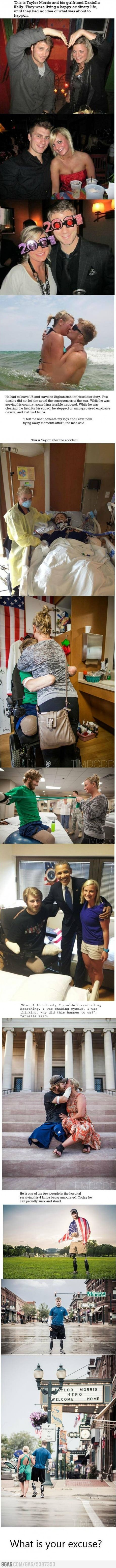 Awesome story about overcoming physical limitations