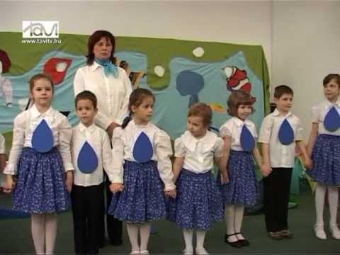 """""""Vizben puha moha volnék"""" óvodások műsora - Tavi TV"""