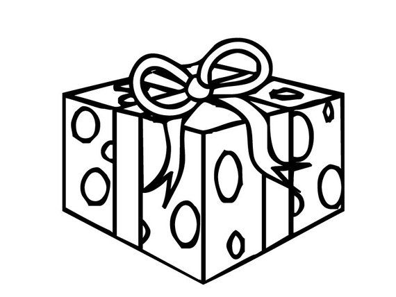 Gift Wrap Message For Items Purchased Christmas Gift Coloring