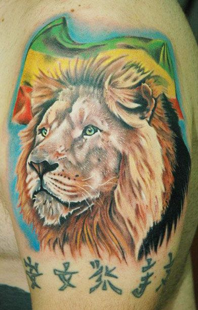tattoo art animal - photo #37