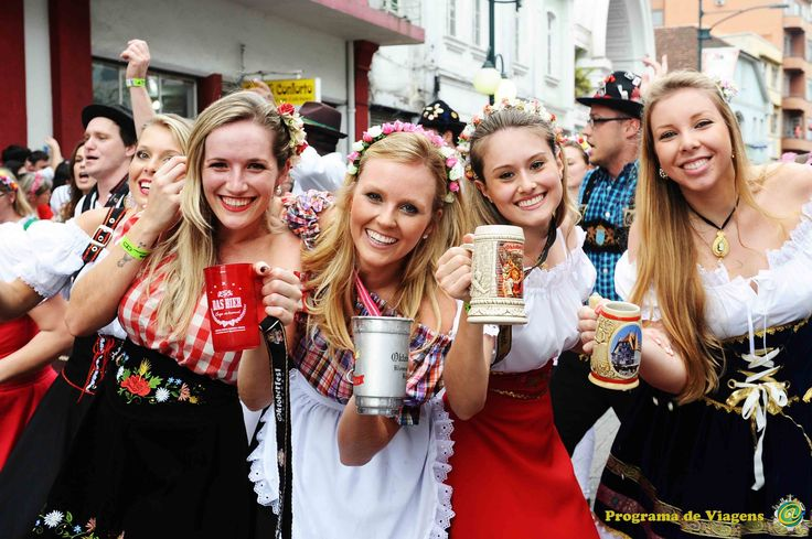 Oktoberfest  Blumenau - Programa de Viagem