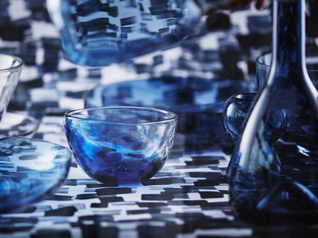 les 25 meilleures id es de la cat gorie vaisselle bleue sur pinterest vaisselle table et. Black Bedroom Furniture Sets. Home Design Ideas