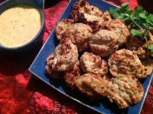 Paleo Princess Spicy Thai Chicken Patties