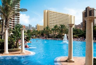 great Hotel Sol Pelicanos Ocas Hotel for 7night £343pp bed and breakfast, in Benidorm- other upgrades available please call 02087785221 LST Travel