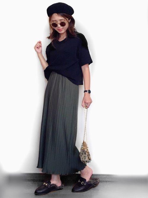 インスタ: mii_wear ▷プロフから飛べます✈︎ 秋冬仕様のプリーツワイドパンツ♡ しっかりし