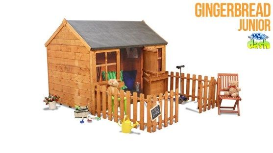 The BillyOh Mad Dash 4000 Gingerbread Playhouse Collection - Playhouses Direct - Garden Buildings Direct