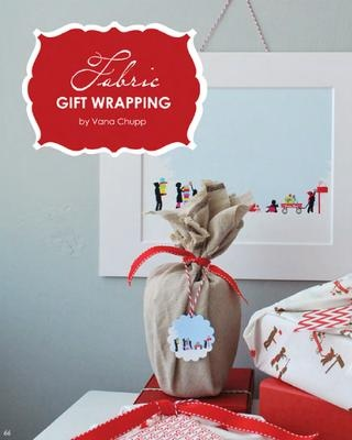 Fabric gift-wrapping