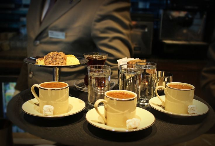Have a cup of Turkish coffee!