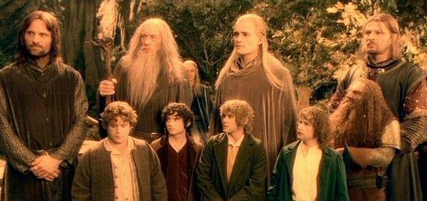 Uma cena de 'O Senhor dos Anéis: A Sociedade do Anel' (2001) (Foto: Reprodução)
