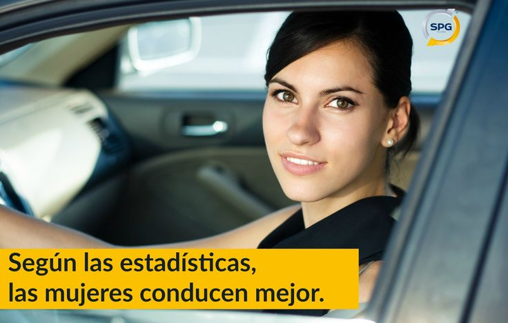 """La popular frase """"#mujer al volante, peligro constante"""" está más descontextualizada que nunca. Las #estadísticas hablan: Las #mujeres son más prudentes y tienen menos #accidentes de coche. http://www.spgtalleres.com/es/noticias/noticias-de-talleres-de-coches-spg-las-mujeres-conducen-mejor-que-los-hombres/_id:9/ #conducir #talleresdecoches #mecánicodecoches #seguridadvial"""