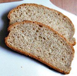 Chleb pszenno-żytni: Chleb bez dodatków, a jaki smak...