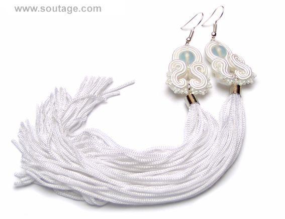 Frost Dragon earrings by Sutasz-Anka