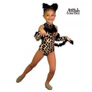 A Wish Come True Dance 2013: Child Untamed Leotard Dance Costume