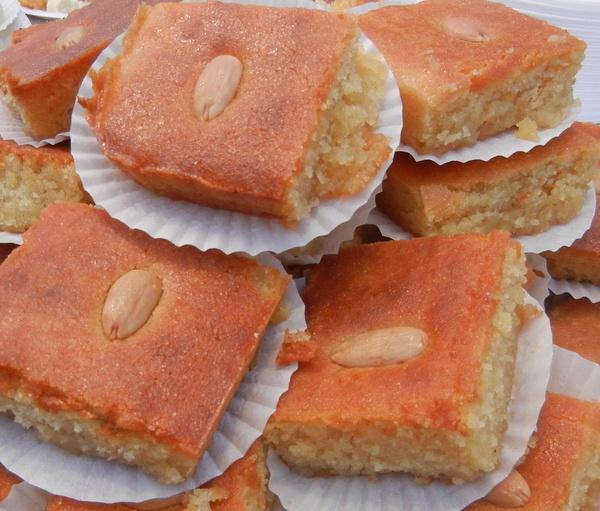 Namoura Egyptian Honey Cake Recipe