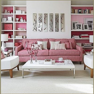 Decorating with Pink * Decorar com Rosa