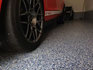 Garage floor epoxy finish discussed with best products.