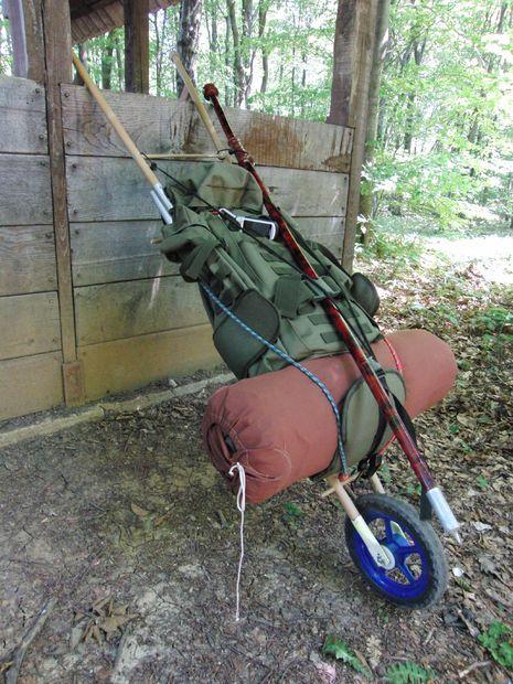 diy hiking trailer - Google Search