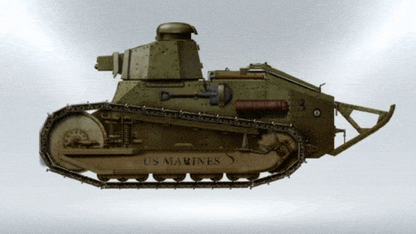 Watch 99 Years of American Tanks in one GIF