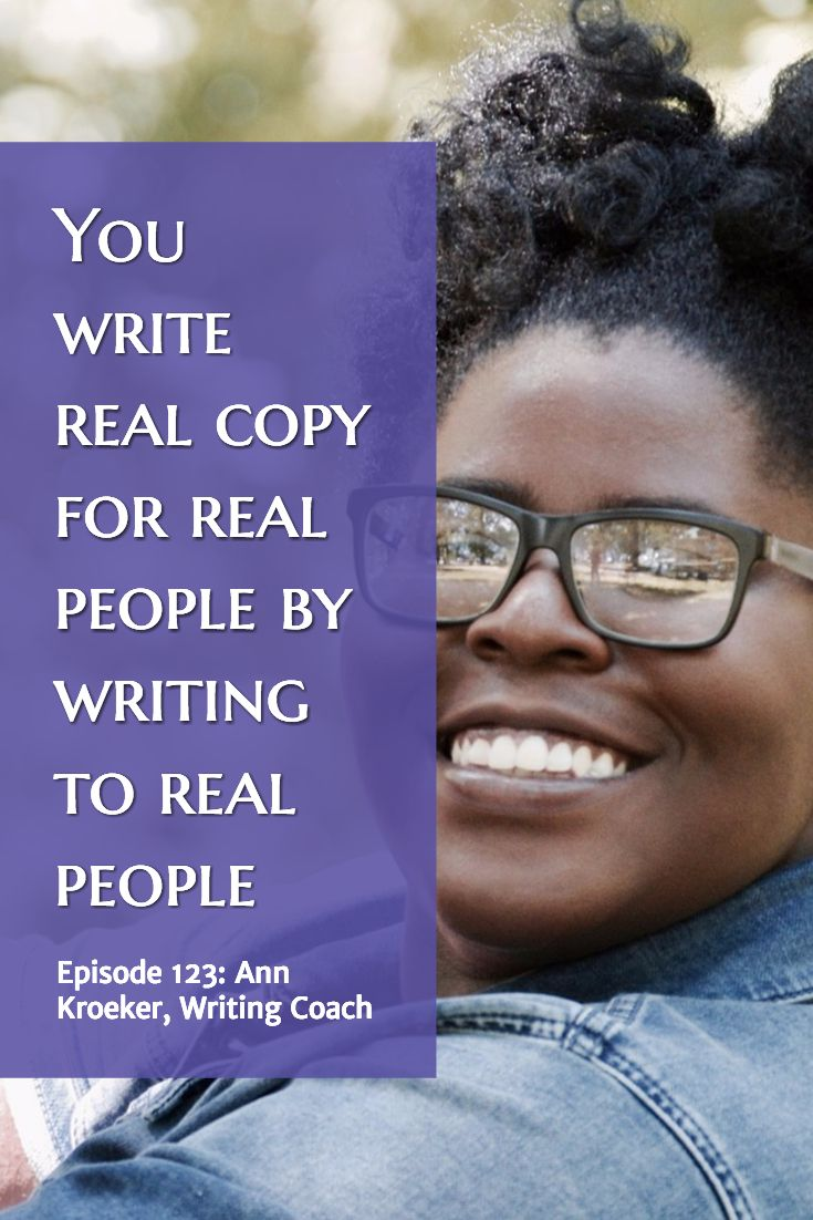 write real copy for real people