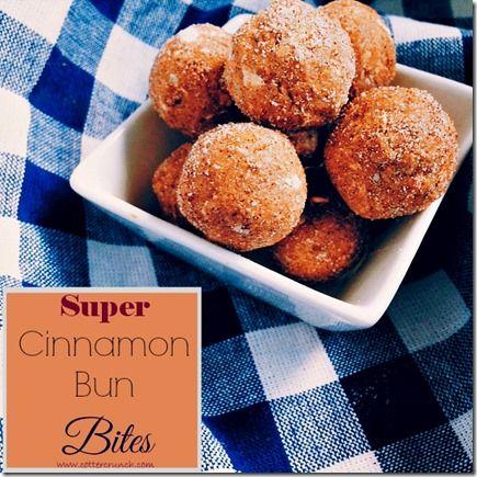Gluten Free Cinnamon Oatmeal Protein Bites