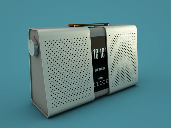 SHA_RED - Wireless Speaker by Mårten Andersson, via Behance