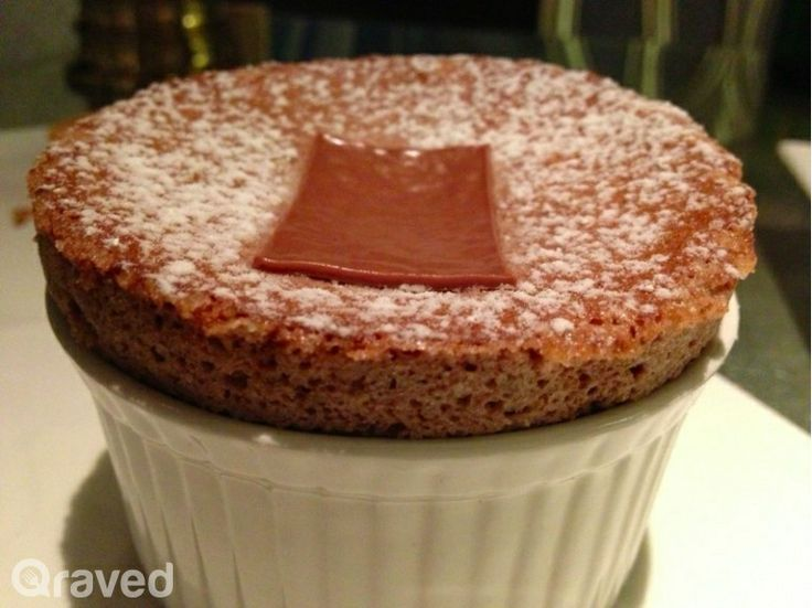 Valrhona Chocolate Soufflé at Chateau Blanc
