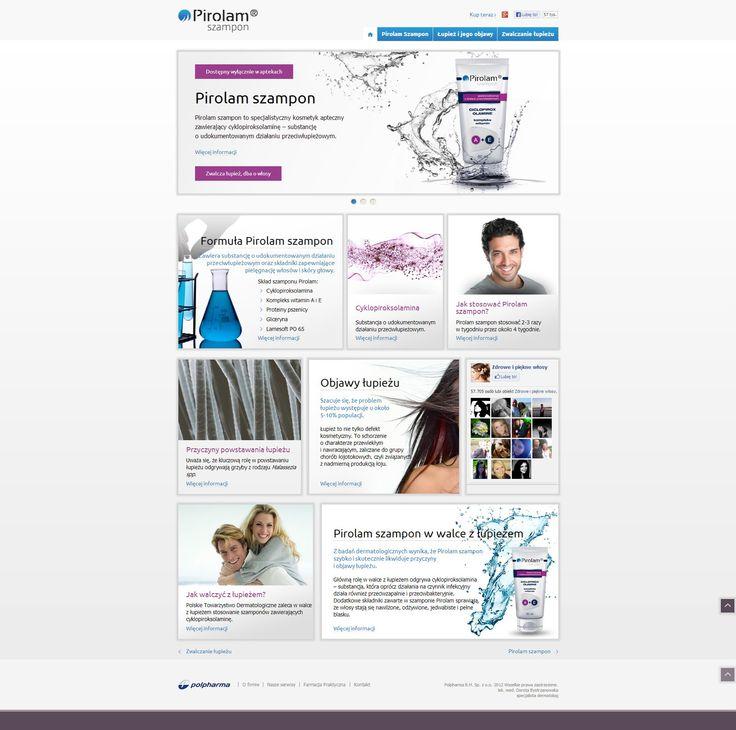 Pirolam product website design.