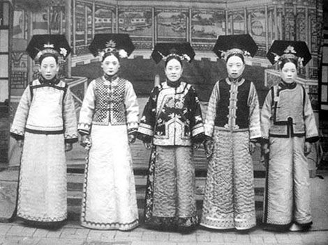 Five Wives of The Last Emperor Puyi - China culture
