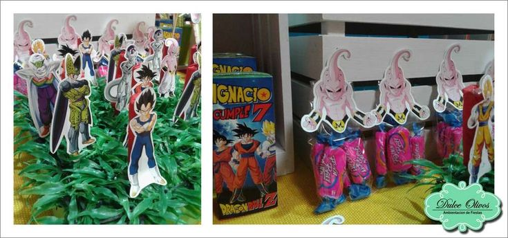 Dragon ball z birthday party ideas dragon ball dragons for Dragon ball z decorations