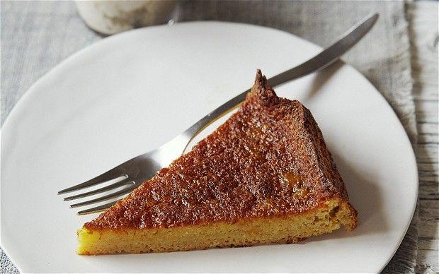 Alkaline diet orange and almond cake with vanilla cream- Alkaline recipes Natasha Corrett and Vicki Edgson