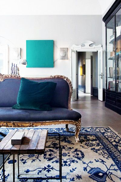 Go Blue - 15 Rooms From Pinterest That Are Giving Us MAJOR Fall Vibes - Photos