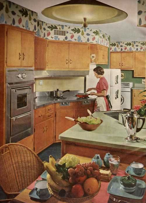 This Is What My Kitchen Looked Like When The House Was First Built 1950s KitchenRetro KitchensVintage BathroomsVintage DecorVintage