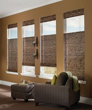 woven wood shades, top down/bottom up