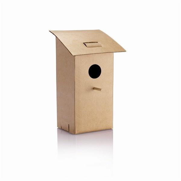 Opvouwbaar vogelhuisje    een mooi post cadeau