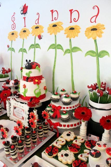 Ladybug Party #ladybug #party sera que eu consigo fazer essa frsta pra Maria?