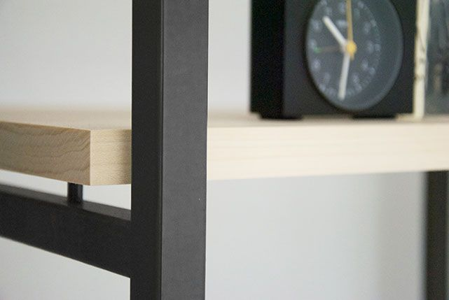 Tulip twins, Braun clock, design, wood, metal, minimal and grey scale. Collaboration http://www.lisamalousmits.nl together with http://jannontwerp.nl