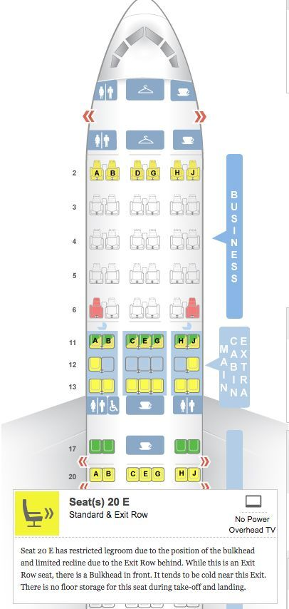 Use Seat Guru to plan your seating arrangement. Seat Guru allows you to look at the layout of the exact airplane you'll be flying on when it comes to your holiday travels. You can scope out your ideal seating situation based on leg room, under-seat storage, and how close you're located to a lavatory.