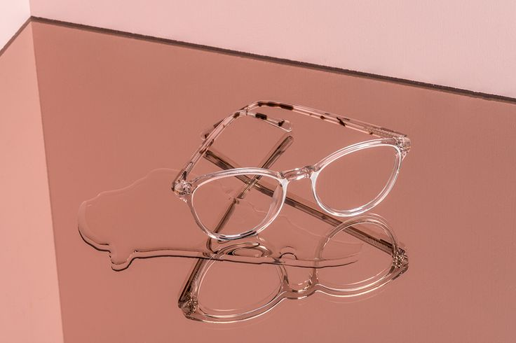 Our LONDON BLUSH glasses from our design collaboration with Canadian figure skater, Tessa Virtue.