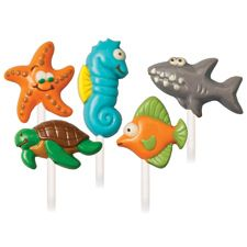Sea Creatures Lollipop Molds.    Buy at:  www.thepartypeople.com.au/products/19608/mould-candycookie-sea-creatures