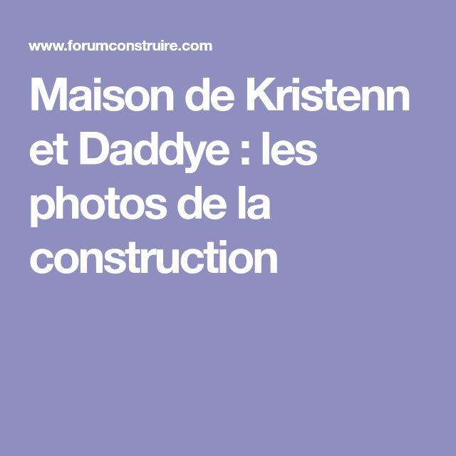 Maison de Kristenn et Daddye  les photos de la construction - normes electrique maison individuelle