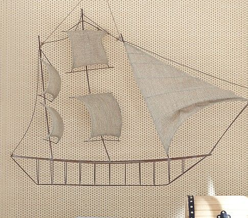 Wire Fabric Pirate Ship Pottery Barn Kids With Images