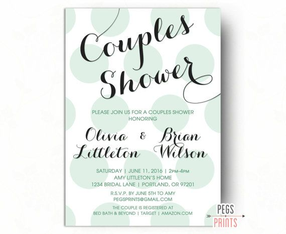 Wedding Shower Invitations For Couples: 25+ Best Ideas About Couples Shower Invitations On