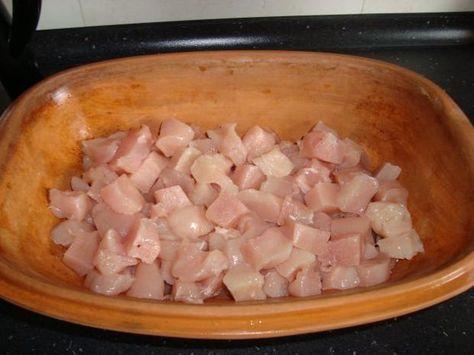 Rezept: Zwiebel-Sahne-Hähnchen aus dem Römertopf Bild Nr. 2