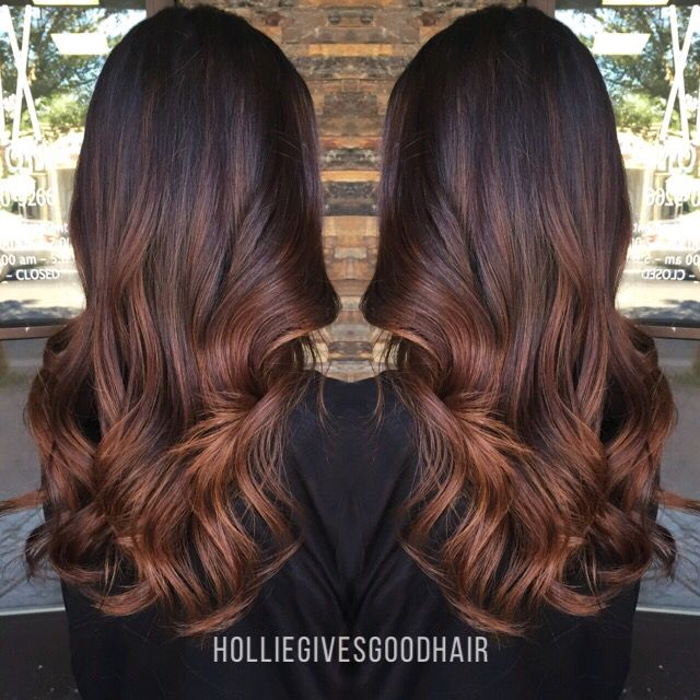 Balayage ombr hair caramel - Ombre hair brun caramel ...