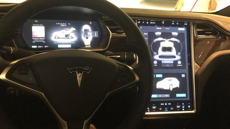 Got to sit in my dream car(s) today. Now I want one more than ever #Tesla #Models #car #Automotive #cars #Autos