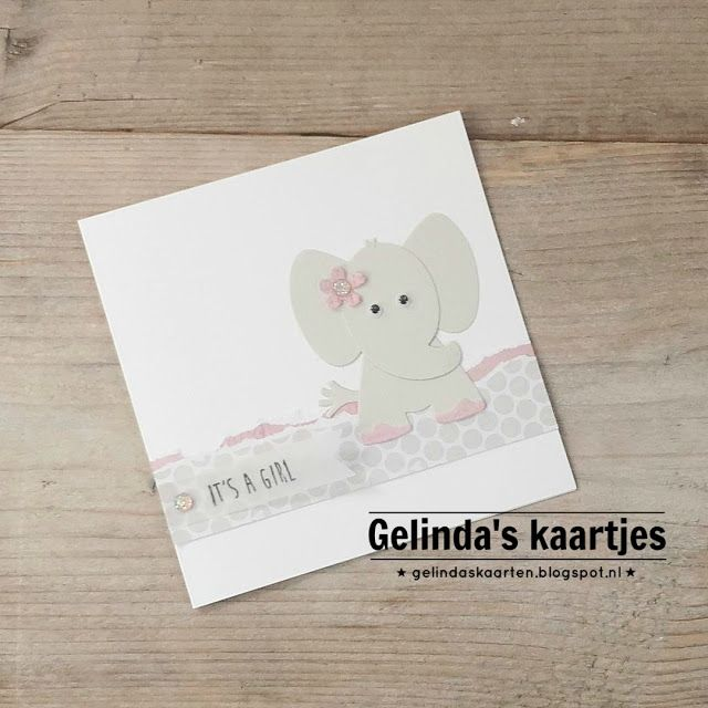 Gelinda's kaartjes: It's a girl!