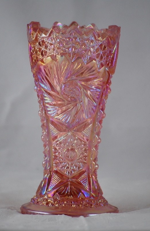 1000 Images About Carnival Glass Vases On Pinterest Glass Vase Lattices And Tree Trunks
