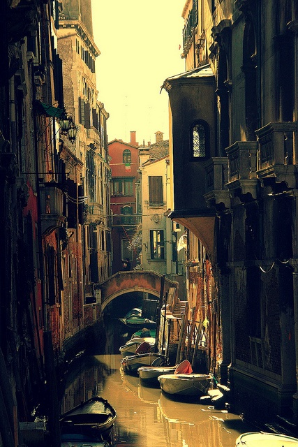 Venezia, Italy backwater canal  by pisanim1, via Flickr