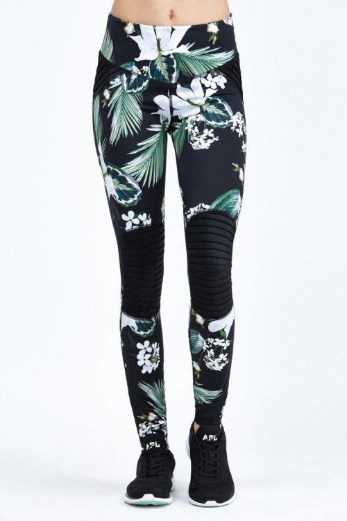 Fit In Hub - Flower power: leggings floreali per i tuoi allenamenti in palestra