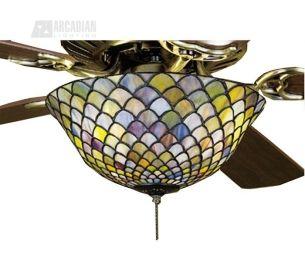 tiffany ceiling fan light kit